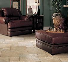 Tile flooring